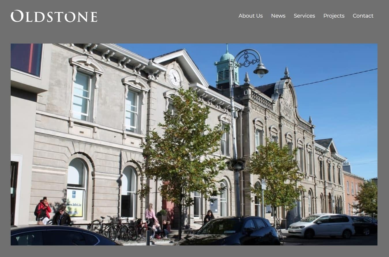 New Oldstone Website 2